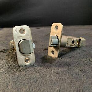 KWIKSET Key Entry 6WAL Adjustable Door Latches 2 3/8 - 2 3/4 (Satin Nickel) 2Pcs