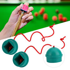 New listing 4 Pieces Of Rubber Billiards, Chalk Stand, Chalk Cap Container Lid Accessory