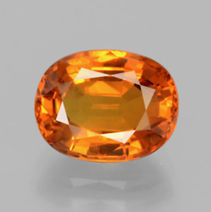 Lab Created Orange Sapphire Padparadscha #55 Oval Loose stones (4x3mm - 18x13mm)