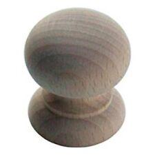 Armadietto in legno di faggio legno armadio Raw non verniciate porta cassetto manopola Pull 25 mm