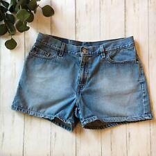 d2aa9429ec74 Levi's Womens Size 12 Petite Light Wash High Rise Blue Jean Denim Shorts