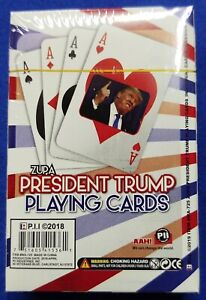 DONALD TRUMP PRESIDENT ~ 1DECK ~ PLAYING CARDS ~ Poker size ~ NEW ~ Ships FREE