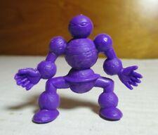 "80's M.U.S.C.L.E. Men Kinnikuman Purple Color 2"" Planet Man Figure #005 Mattel"