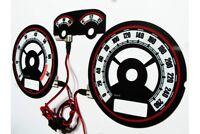 Volkswagen Golf MK4 / Bora design 2 glow gauge plasma dials tachoscheibe glow sh