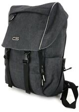 Carbon Sesto Gray Vortex Backpack~Laptop Sleeve~Water Resistant MARKDOWN~NWT