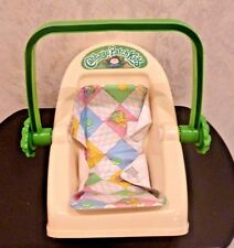 Vintage Cabbage Patch Baby Carrier 1983 Coleco Car Seat Pad, Missing Strap