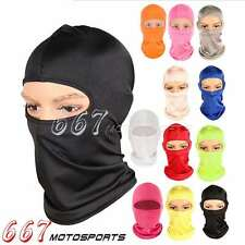 Outdoor Ski Motorcycle Cycling Balaclava Full Face Mask Neck Ultra Thin Protect