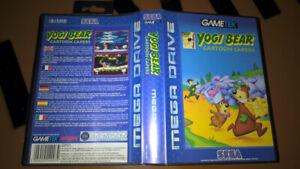 ## Yogi Bear: Cartoon Capers - SEGA Mega Drive / MD Spiel - TOP ##