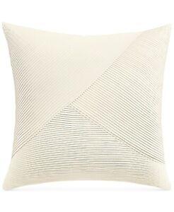 Hotel Collection EURO Pillow Sham Birch Ivory 282