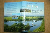 Buch über die Elbe Landschaft Geschichte Fluss Städte Nutzung Hamburg Dresden