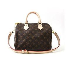 Authentic LOUIS VUITTON Monogram  Speedy Bandouliere 25cm M40390  #M40-390-A0...