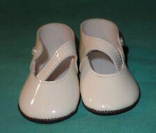 """Paire de poupée Chaussures/cuir verni imitation 3.2"""""""