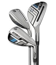 New LH Adams idea Iron Set 3h-PW Steel & Graphite Regular flex Irons 3-PW