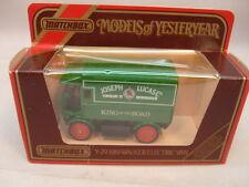 1986 MATCHBOX MODELS OF YESTERYEAR Y29 1919 WALKER ELECTRIC VAN JOSEPH LUCAS MIB