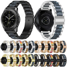 For Garmin Vivoactive 4 Replacement Luxury Stainless Steel Resin Band Strap 22mm