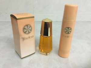 Avon Timeless Edt  new and boxed - 50mls - Vintage bottle + Timeless body spray