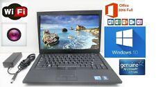 Dell Latitude Laptop/Notebook Intel 2.391GHz Windows 10 pr + Office word+Exce