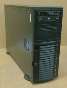 Supermicro SuperChassis CSE-743 1x E5-2609v2 16GB Ram 4x 512GB SSD Tower Server
