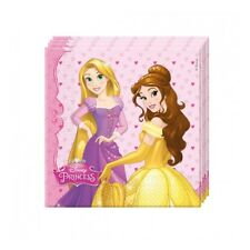 Tovaglioli carta Cm. 33x33 Principesse - Blister 20 pezzi
