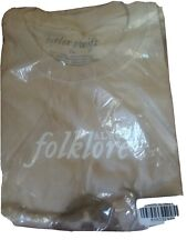 Taylor Swift Folklore XL T-Shirt New In Bag