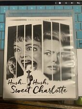 HUSH...HUSH, SWEET CHARLOTTE 2016 Blu-Ray Twilight Time BETTE DAVIS OOP Rare
