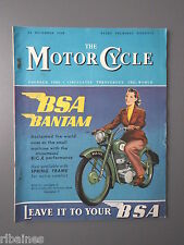 R&L Mag: The Motorcycle 22 December 1949, Lone Wolf IOM TT/Northern & S Trials