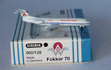 Schabak Fokker F-28-0070 America West Airlines in 1:600 scale