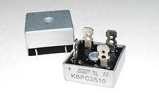 2PCS KBPC3510 NTE5344 ECG5344 BRIDGE 1000V 35A FULL WAVE A276