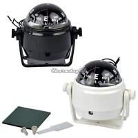 Sea Marine Electronic Digital Compass Boat Caravan Truck 12V LED Light  C1MY