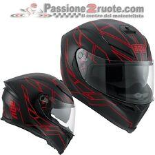 Helmet Agv K5 Hero black mat Red casque moto integral helm size L