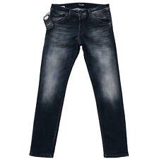 JACK&JONES Hombre ' S Glenn Fox Ajustado Talle Bajo Jeans Gris Tamaño W32