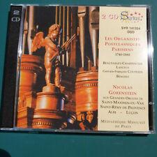 16 Nicolas Gorenstein Lasceux,G F Couperin klass Orgelmusik 2 CDs