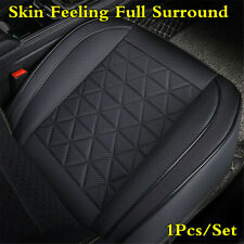 Universal 1Pc Front Car Seat Cushion Skin Feeling Leather Non-slip Protector Pad