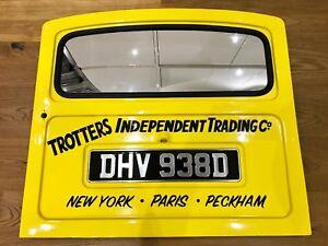 Delboy Van Signwriting, Trotter Decals Signage, Reliant Regal Supervan lettering