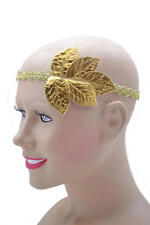 Gold Leaf Headband For Roman Fancy Dress Or Julius Caesar Toga Party Costume