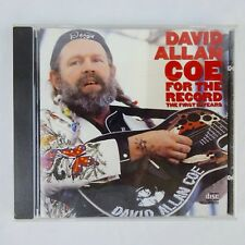 David Allan Coe Coe for the Record The First 10 Years CD 1984 Columbia Records