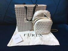 Furla Yo-yo Mini Convertible Cross-Body Bag (Chalk-White)