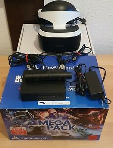 PS4 VR Brille playstation4 vr Brille 2.Gen + Kamera Top Zustand