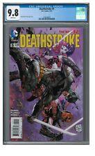 Deathstroke #5 (2015) Tony Daniel Harley Quinn CGC 9.8 EB504