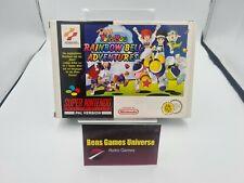 SNES Super Nintendo Pop'n Twinbee Rainbow Bell Adventures NOE Ovp Leer / Empty