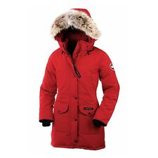 Canada Goose Womens Trillium Parka Red 6550L Size XS (Extra Small)