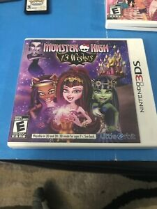 Monster High 13 Wishes 3ds