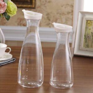 Jug With Lid Drinkware Water  Carafe Water Bottle Juice Pitcher Lemonade Jar