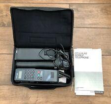 Vintage 1990s America Series by Motorola Cellular Mobile Car Telephone w/ Case