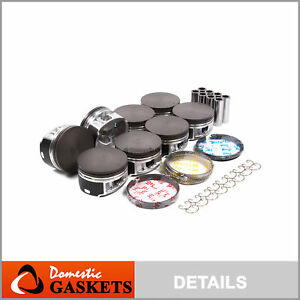 Pistons and Rings 04-14 Ford F150 F250 Expedition Mustang Lincoln 5.4 TRTION 24V