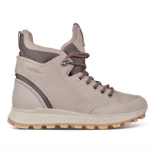 ECCO - Women's Exostrike Shinebright Boot Grey Rose Leather - EU 39 US 8 or 8.5