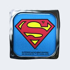 DC Comics Superman Chest Logo Image Decorative Visor Clip, NEW UNUSED