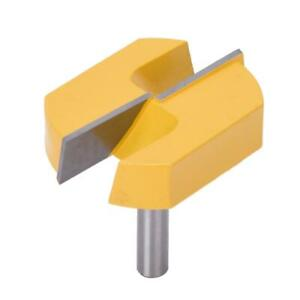 8x57mm Router Bit Bottom Surface Planing Woodworking Milling Cutter