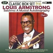 LOUIS ARMSTRONG - SATCHMO: A MUSICAL AUTOBIOGRAPHY, VOL. 1 NEW CD