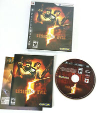Resident Evil 5 (PlayStation 3, 2009) PS3 Complete CIB